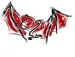 Heart w/ Demon wings