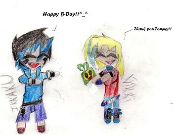 Happy(Early)B-DAy vikki