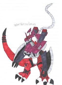 WarGrowlmon in {my style}