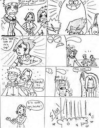 Naruto gang v.s. Bloo comic pt. 1