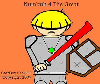 Numbuh 4 the Great