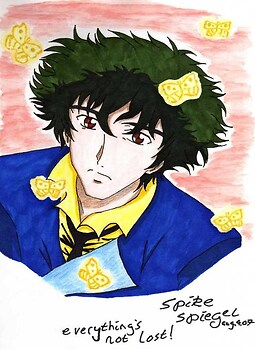 Spike Spiegel-Everything's Not Lost