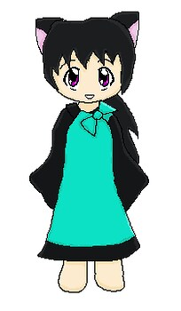 Cyan doll