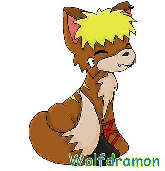 Wolfdramon for PunkWolfGirl