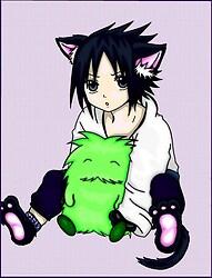 Shippuuden Sasuke Kitty:3