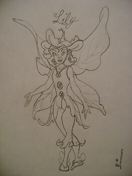 Tinkerbell's friend Lily