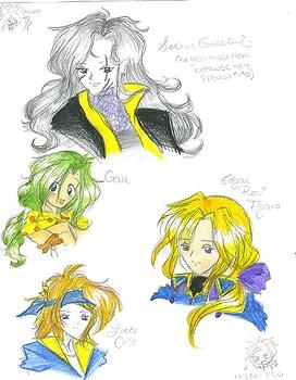 Random Final Fantasy 6 people