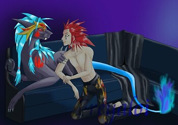 Axel and Zirrage