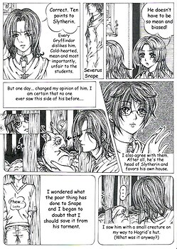 HP Doujinshi - Sanctuary page 1
