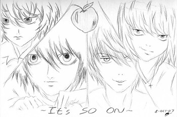 Death Note. It's SO on.