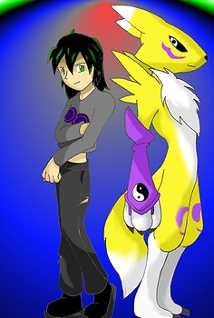 Digimon Request for mew54