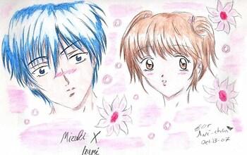 MizukiXIzumi-Hana Kimi trade 4 Saeki Annika