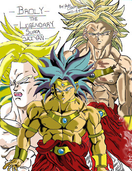 The Legendary Super Saiyan Broly