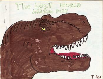 t-rex age 7