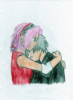 SAKURA AND KAKASHI