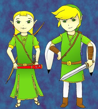 Link&Aryll Grown Up
