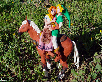 Malon and Link