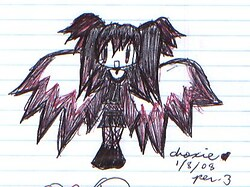Chibi Goth Angel 1