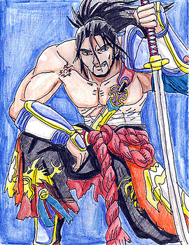 Soul Calibur IV Mitsurugi