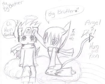 My Big Brother~~ Devil Angel