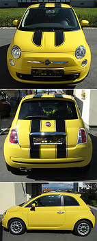 Fiat 500 - Custom Decals