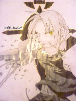 Edward Elric- Broken Automail