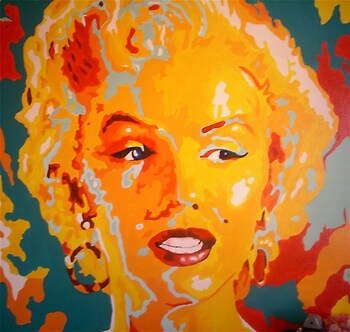 Colorful Marilyn