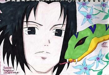 Snakey Shippuuden Sasuke