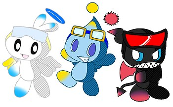Chao Riders (request from Kirbster)