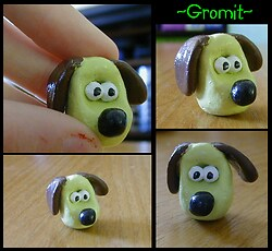 Clay modal of Gromit