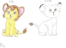 Kitty and Kimba