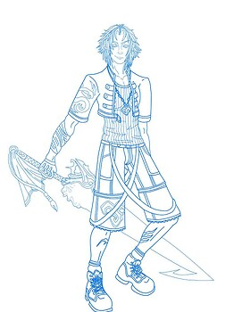 Tidus - Warrior