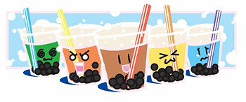 Bubble Tea Mascots <3