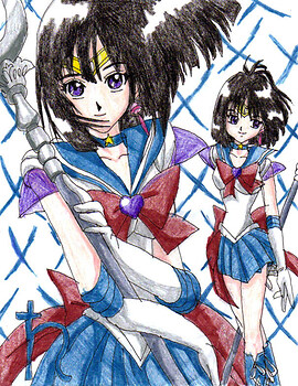 Sailor Saturn Super