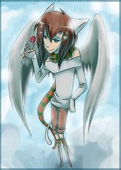 Pretty Yuki *final half of art-trade with YuffietheSwift*