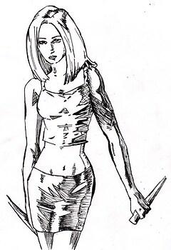 Buffy ~ Comic-y style. ^^