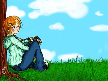 Resting (Wallpaper)