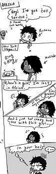 Heroes gag comic