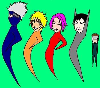 Naruto: Birthday Hump Train!