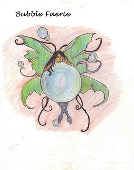 Bubble Faerie colored