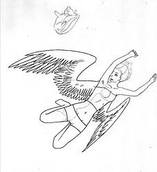 Raven (inked)
