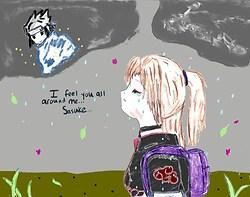 Feel You All Around Me...Sasuke