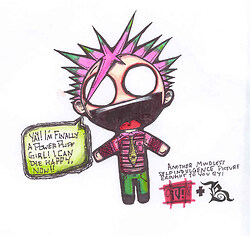Jimmy Urine Chibi