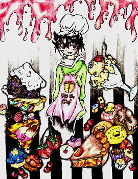 Chef] Hiei && Sweets