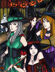 Witchy Witchy Halloween
