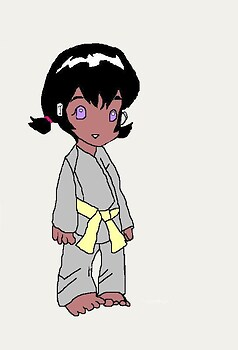 Hana Akisame age 3 in color