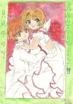 Sakura and Syaoran - HAPPY ANNIVERSARY!! (to my parents)