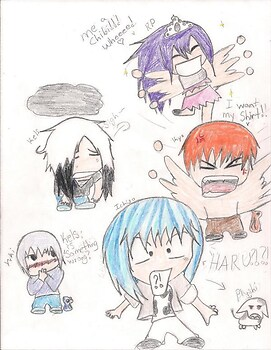 Attack of da chibis!