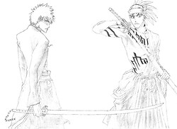 Ichigo and Renji