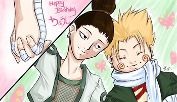 Best friends, Chouji and Shikamaru